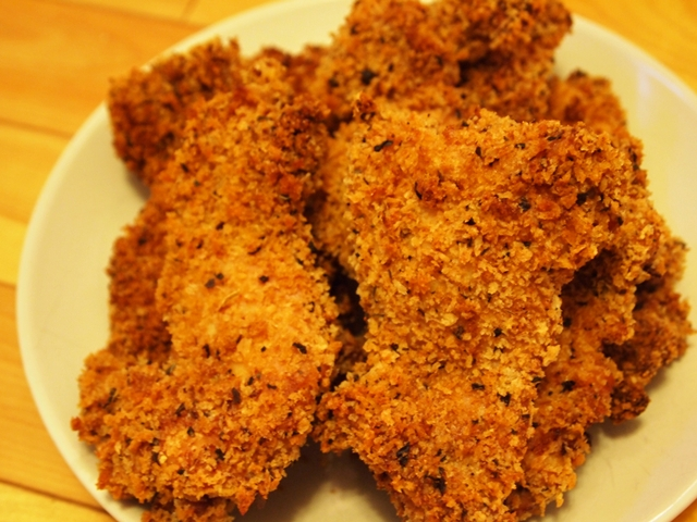 Paprika Panko Crusted Chicken Thighs Recipe — Dishmaps