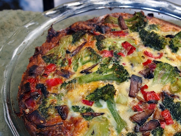 Gluten Free Vegetable Quiche With Potato Crust- A Colorful Dish ...