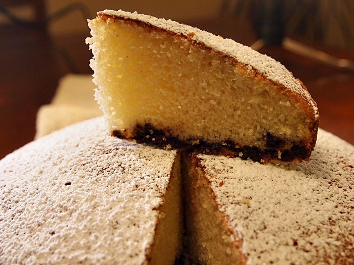 Coconut Cake with Chocolate Chips « Mayas Kitchen