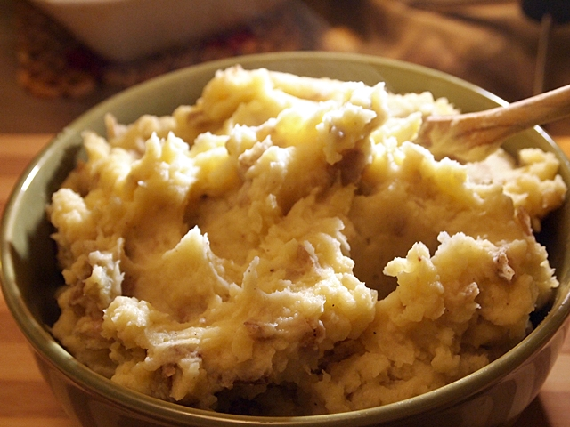 Brown Mashed Potatoes