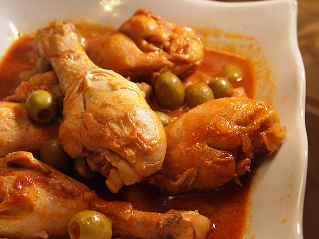 Chicken Drumsticks and Olives