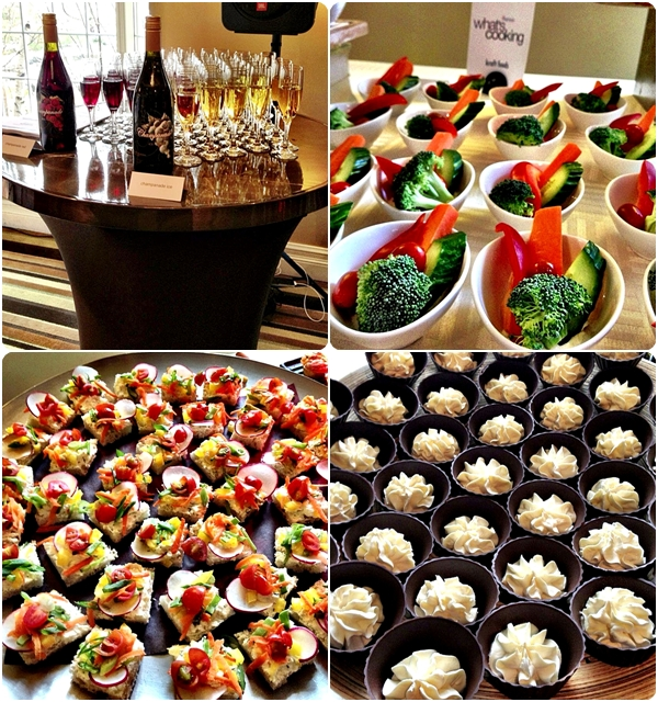 Finger Food at reception