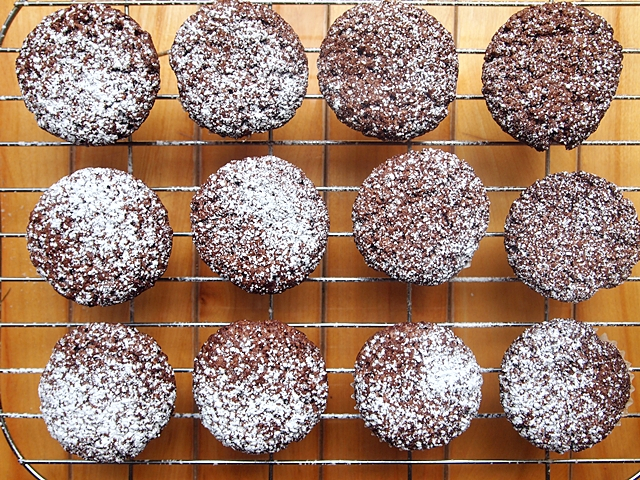 Mini Chocolate Brownie Muffins