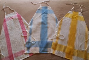 Kitchen towel DIY Aprons