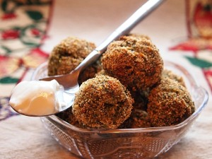 Breaded Broccoli Feta Bites