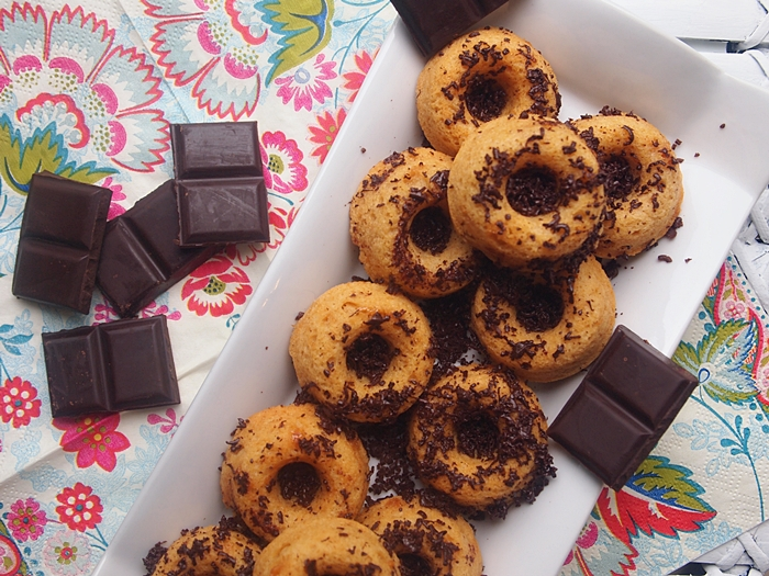 Rooibos Infused Mini Baked Donuts