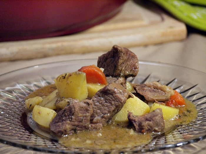 Easy Beef Stew with Potatoes