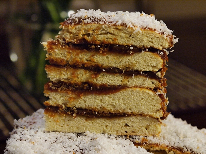 Alfajores Layer Cake