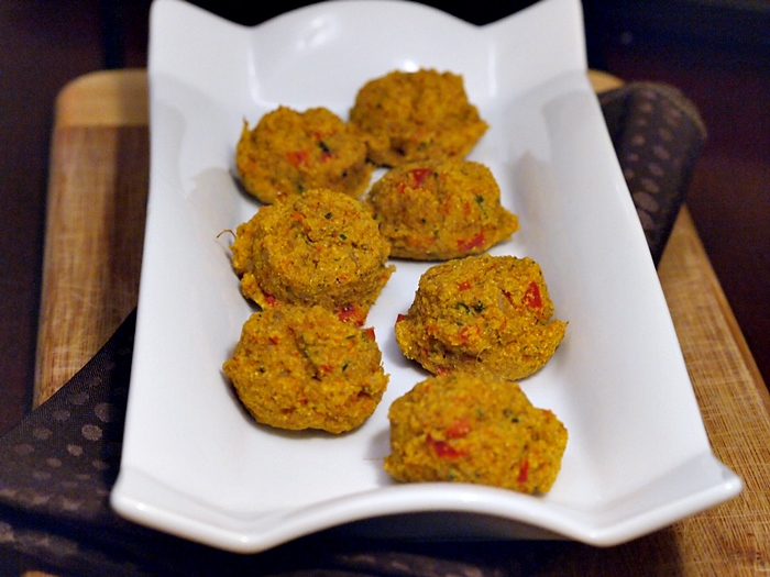 Brown Rice and Vegetables Falafel Patties