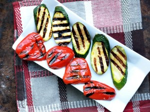 Grilled Vegetables at Home with Lemon Garlic Marinade