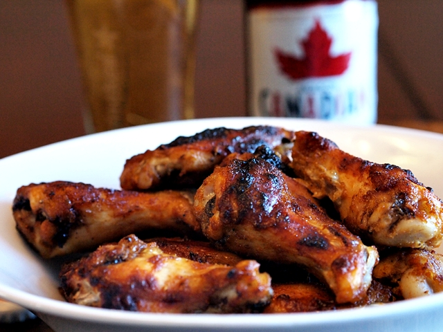 Baked Maple Chicken Wings