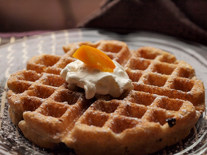 Yogurt Vanilla Whole Wheat Waffles