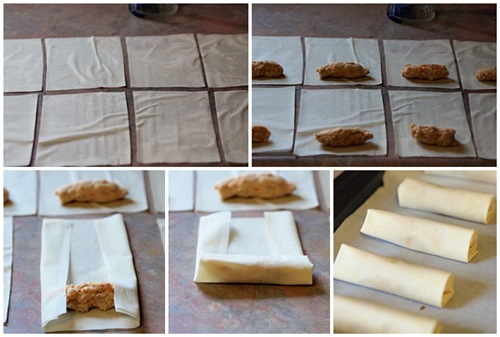 instructions for phyllo pastry cigars