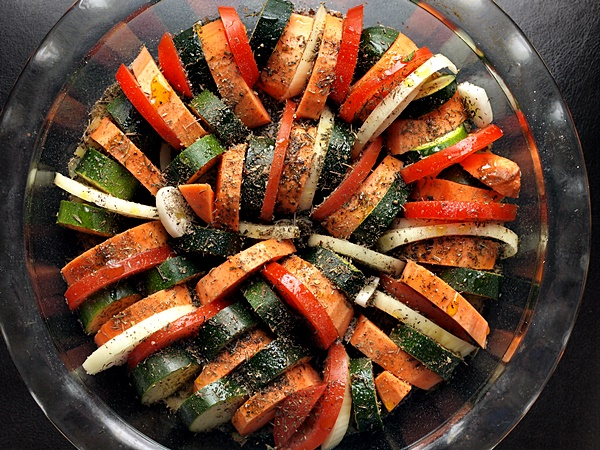 Easy Thyme Roasted Vegetables