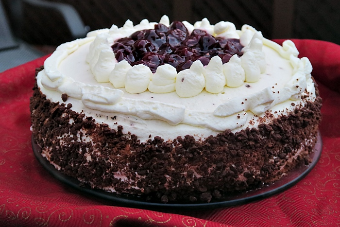 Egg Free Amazing Black Forest Cake