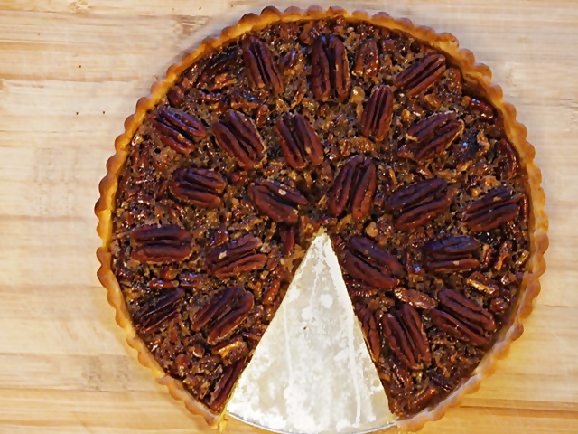 Maple Pecan Pie With No Corn Syrup